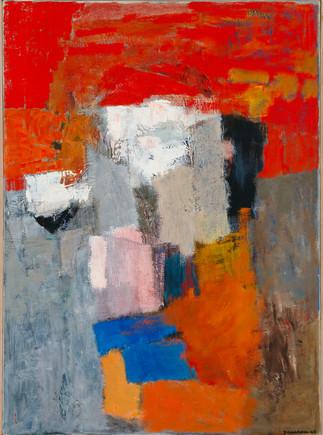 Tove Jansson: Abstrakti sommitelma / Abstrakt komposition / Abstract composition