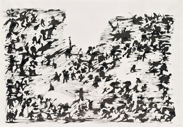 Henri Michaux: Nimetön / Utan titel / Untitled