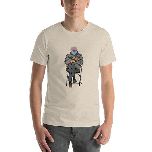 Bernie Mittens Short-Sleeve Unisex T-Shirt