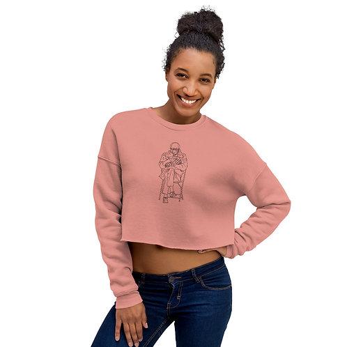 Bernie Mittens Crop Sweatshirt