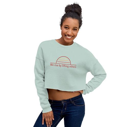 We Rise Crop Sweatshirt