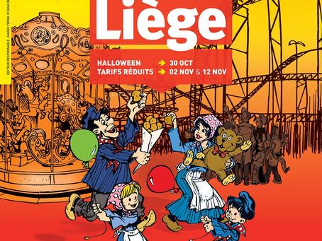 Encore un peu de patience pour déguster des bonnes frites sur la foire d'octobre à Liège édition