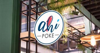 Ahi Poke Logo Design