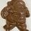Thumbnail: Milk Chocolate Running Santa