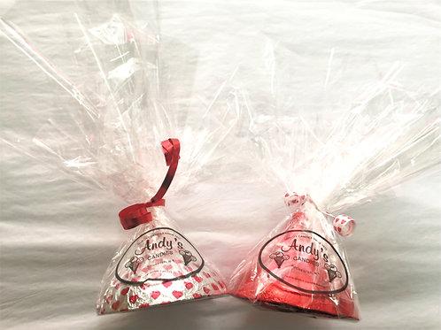 Solid Milk Chocolate Valentines Kiss