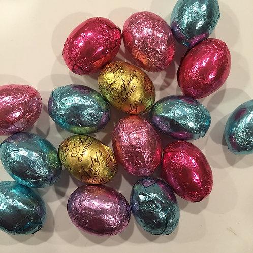 Foiled Milk Chocolate Eggs