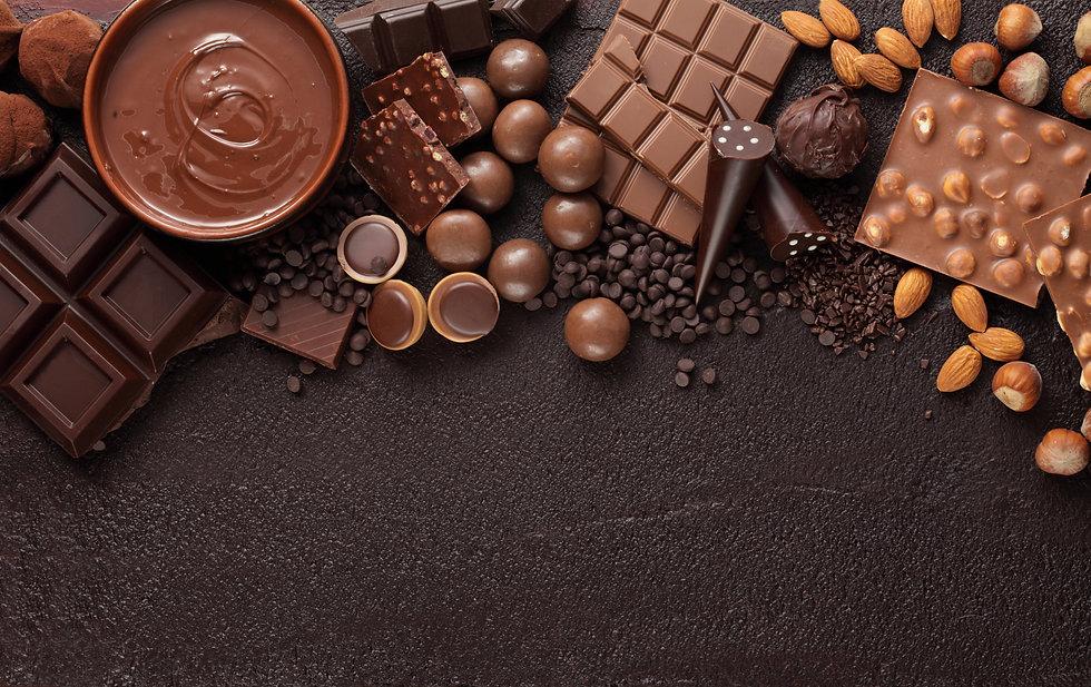 Chocolate candy box / Assortment of fine