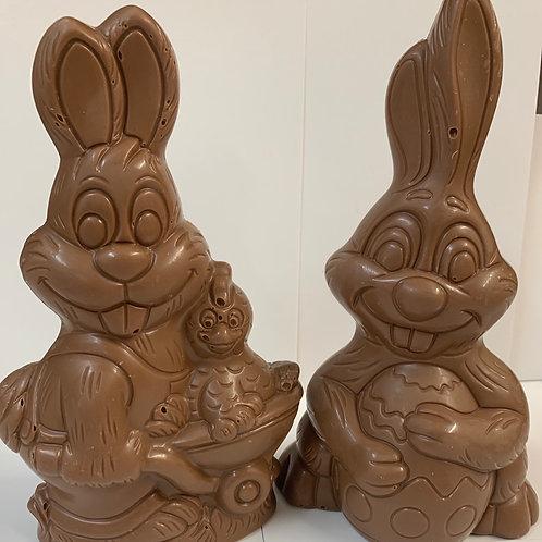 Single Large Milk Chocolate HOLLOW Rabbit