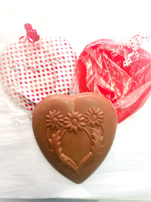 Solid Milk Chocolate Heart (large)