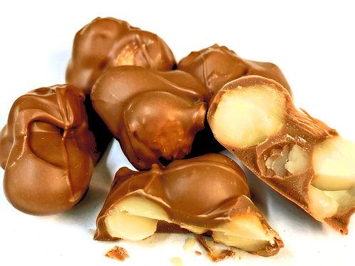 Milk Chocolate Macadamia Nut Clusters