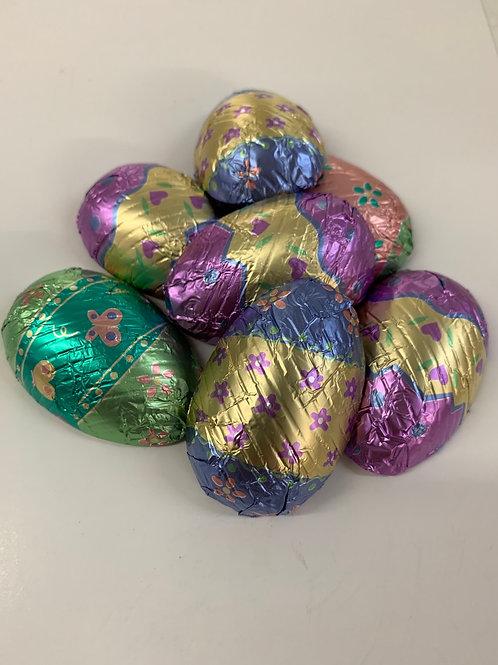 Pastel Foil Eggs (7/bag)