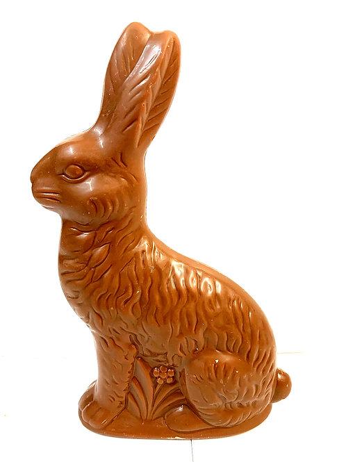 Solid Large Milk Chocolate Sitting Rabbit (#28)