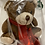 Thumbnail: Holiday Bear with Foil Chocolate Drop