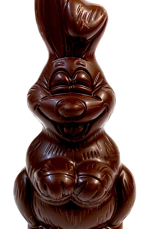 Hollow Medium Dark Chocolate Rabbit (#5.5)