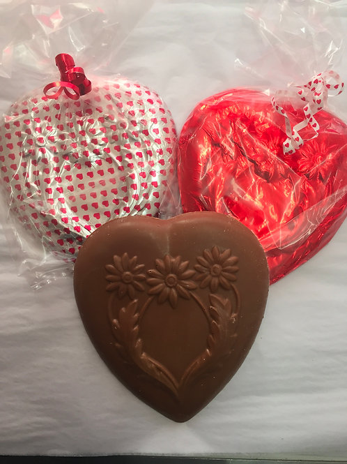 Solid Milk Chocolate Heart