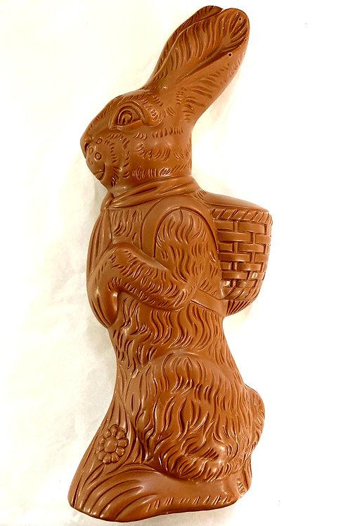 Hollow Large Milk Chocolate Standing Rabbit