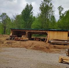 Sawmill lumber shop