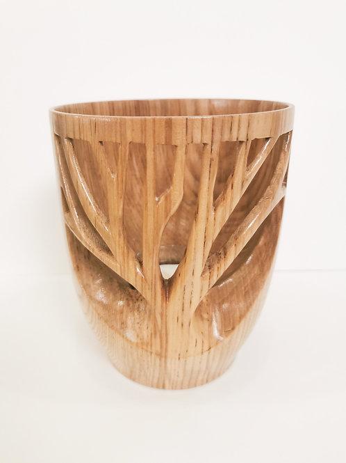 Oak Tree of Life Candle Holder