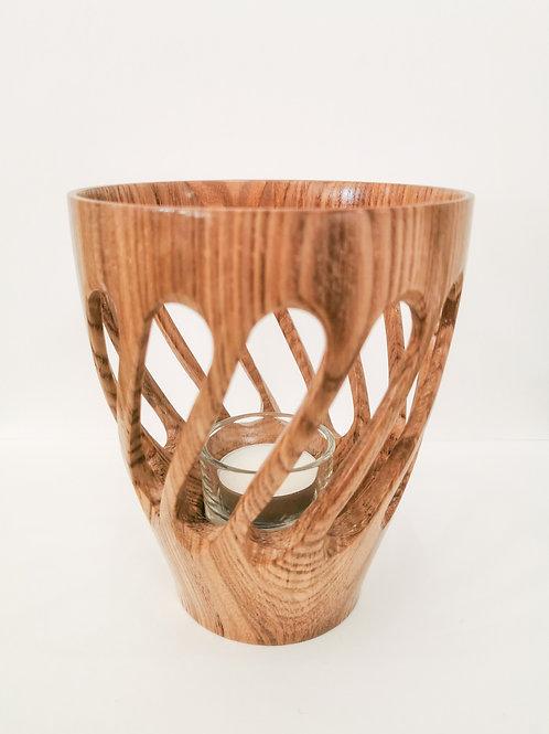 Oak Lantern Vase