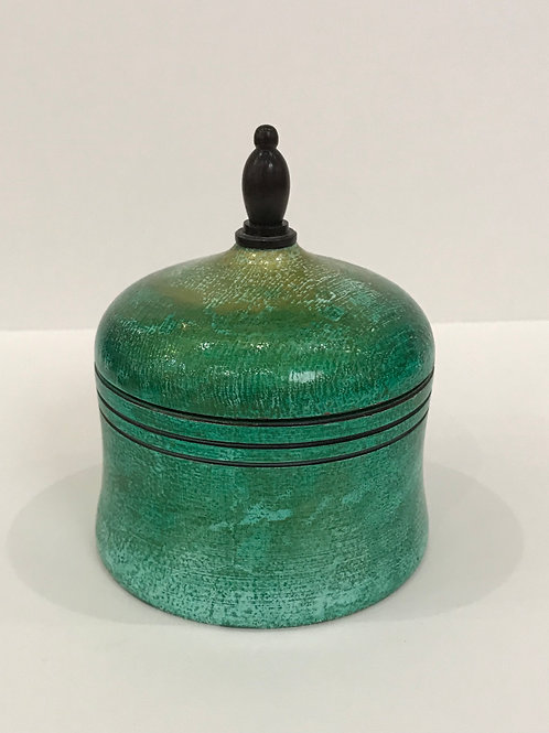 Green Maple Pot with Lid