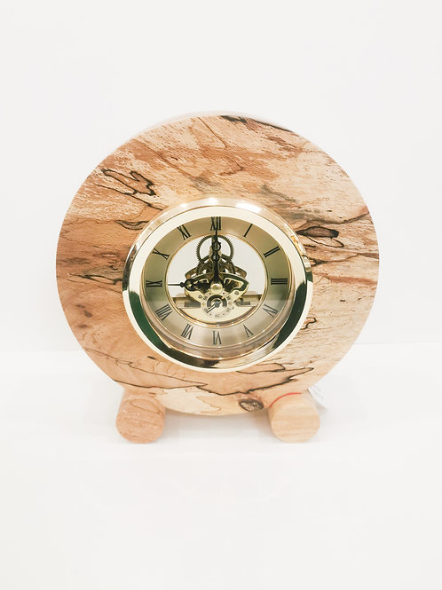Spalted Beech Clock