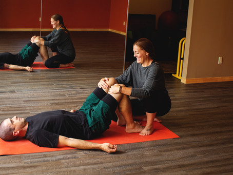 What Lead Me to Become a Yoga Therapist