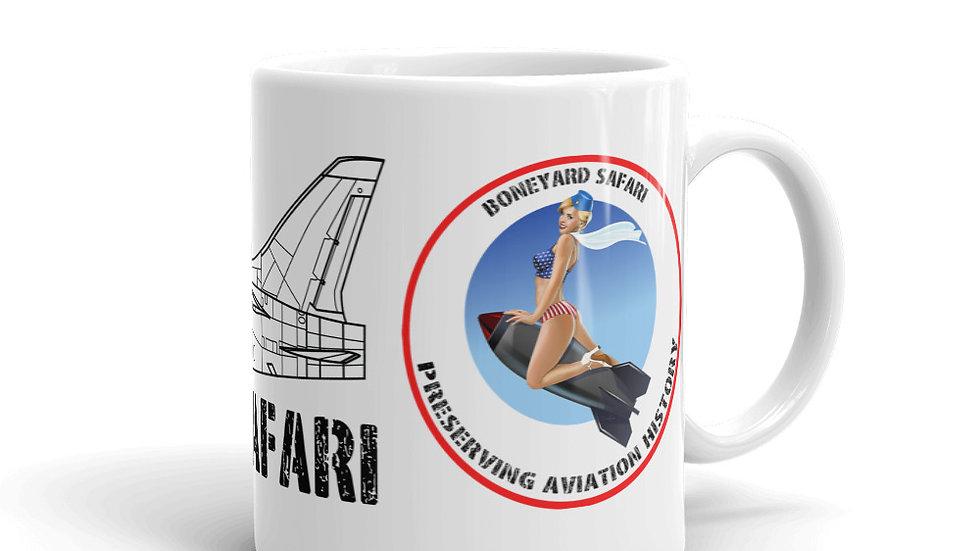 Boneyard Safari RF-8A coffee mug