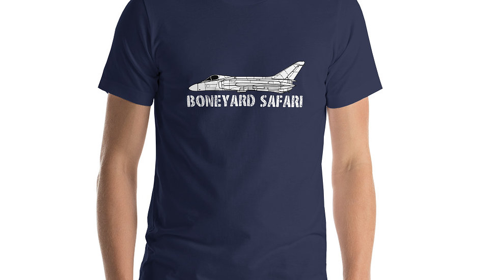 Boneyard Safari F4D-1 Short-Sleeve Unisex T-Shirt