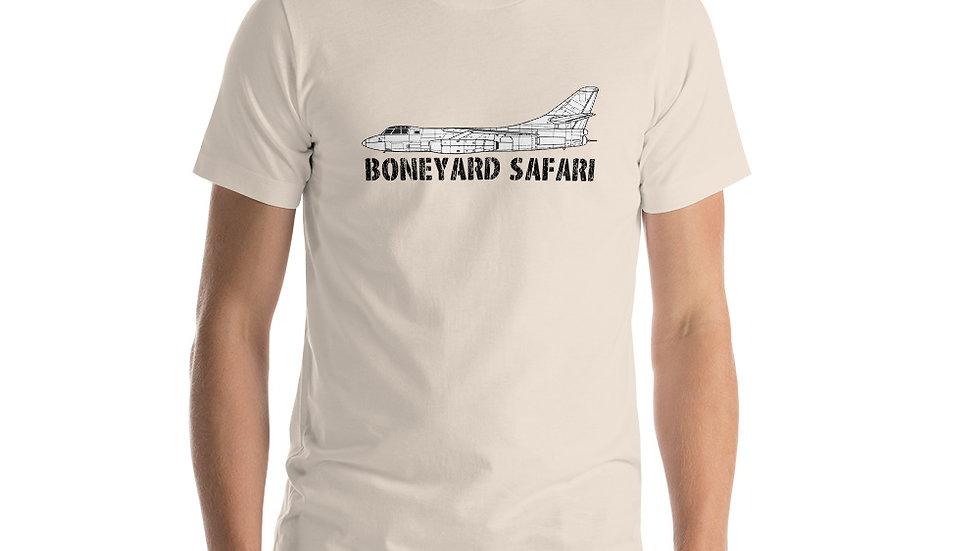 Boneyard Safari B-66 Short-Sleeve Unisex T-Shirt