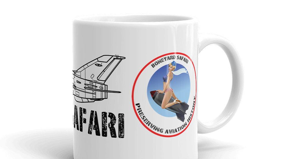 Boneyard Safari MiG-21 F-13 coffee mug