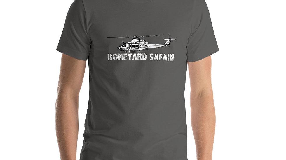 Boneyard Safari UH-1Y Short-Sleeve Unisex T-Shirt