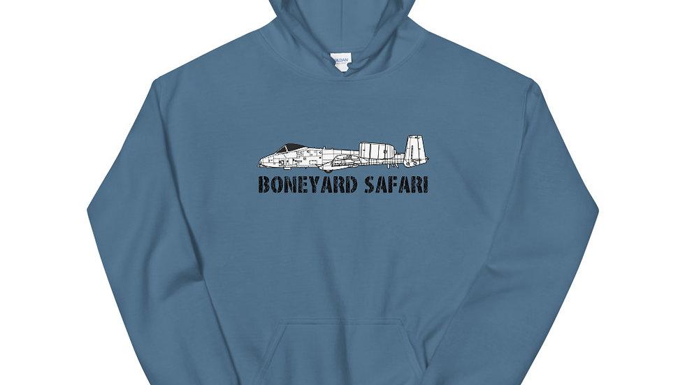 Boneyard Safari A-10 Unisex Hoodie