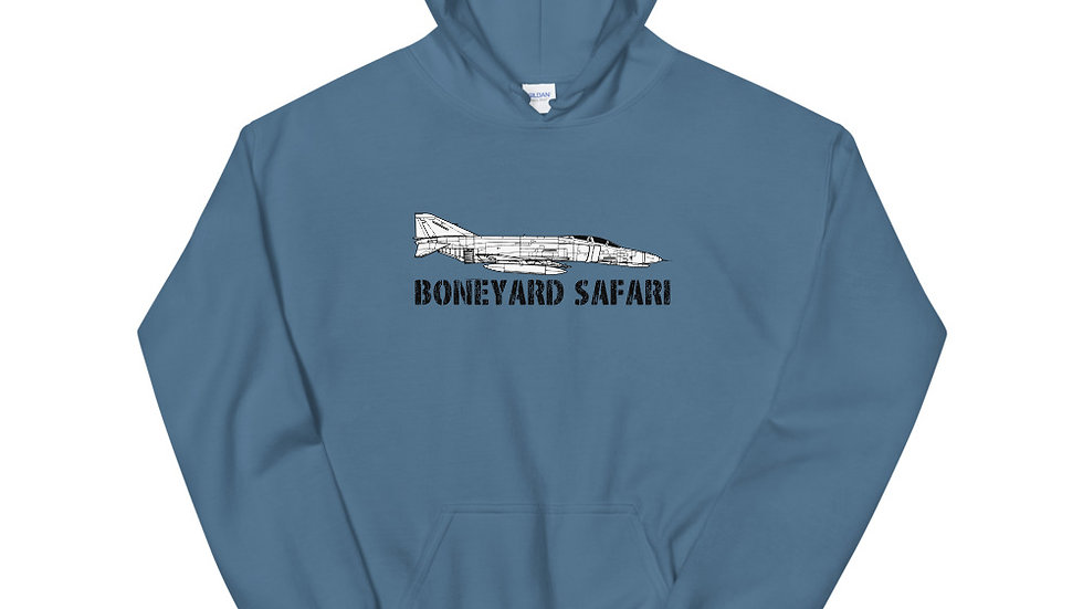 Boneyard Safari F-4E Unisex Hoodie