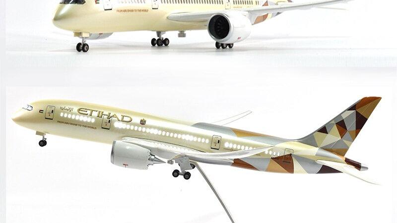 Etihad Boeing 787 1:144 Scale