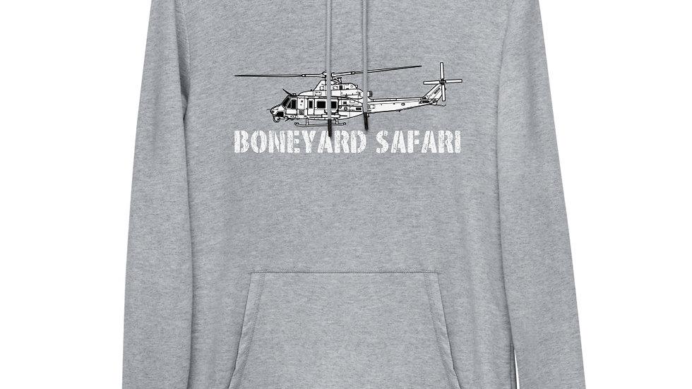 Boneyard Safari UH-1Y Unisex Lightweight Hoodie