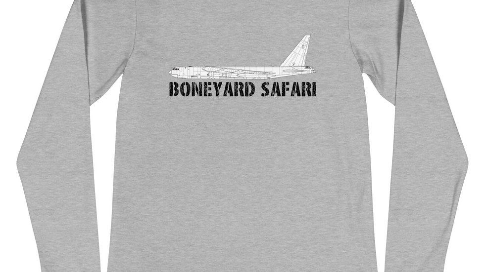 Boneyard Safari B-52D Unisex Long Sleeve Tee