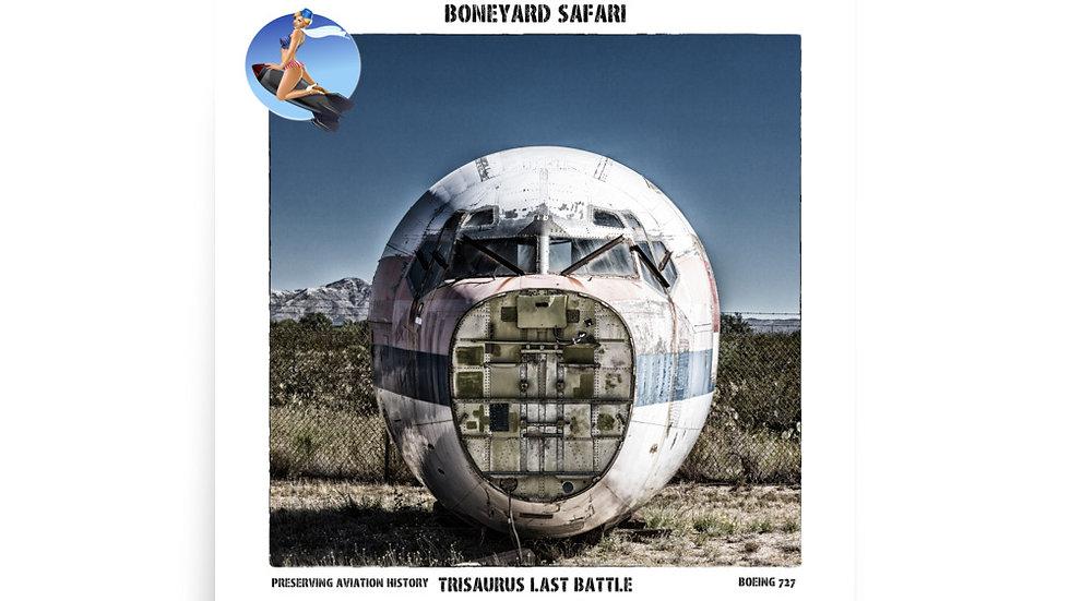 Boneyard Safari Trisaurus Last Battle Poster