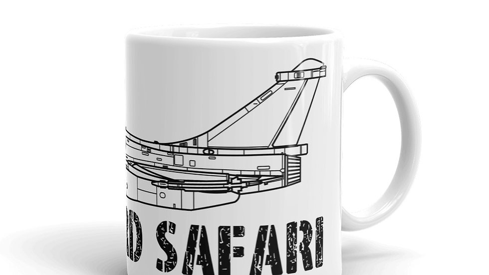 Boneyard Safari Rafale Coffee Mug