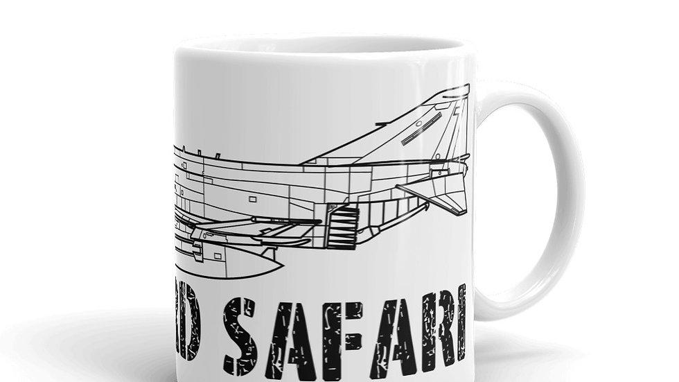 Boneyard Safari F-4G coffee mug