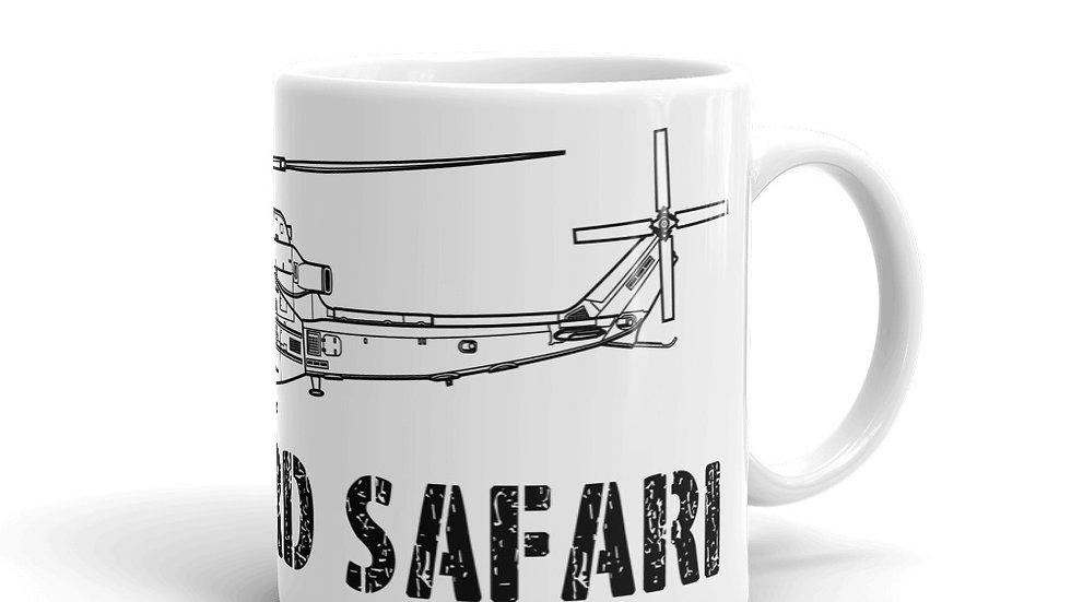 Boneyard Safari UH-1Y coffee mug