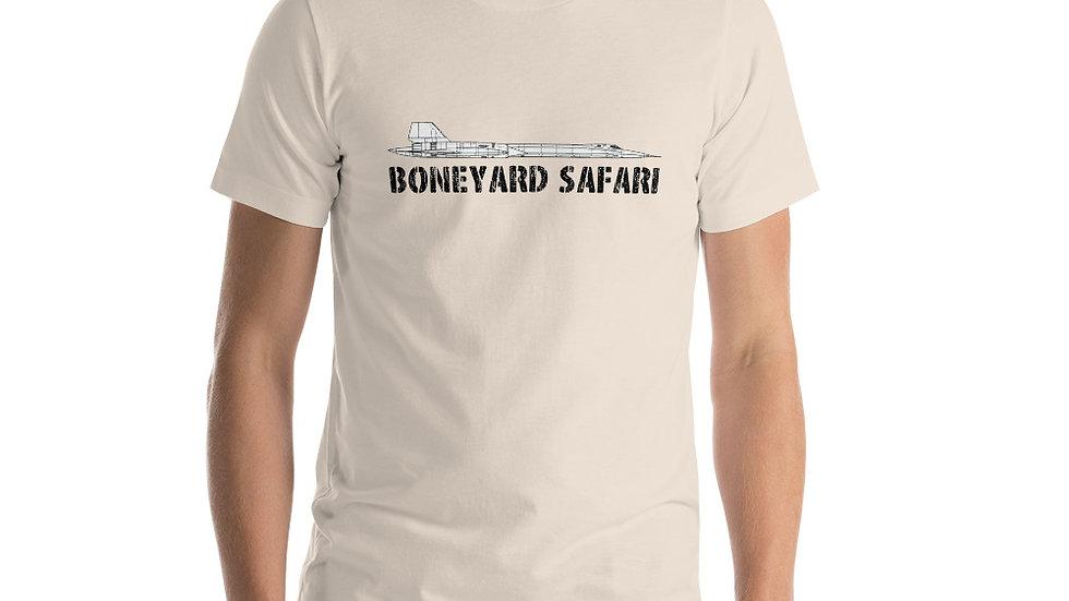 Boneyard Safari SR-71 Short-Sleeve Unisex T-Shirt