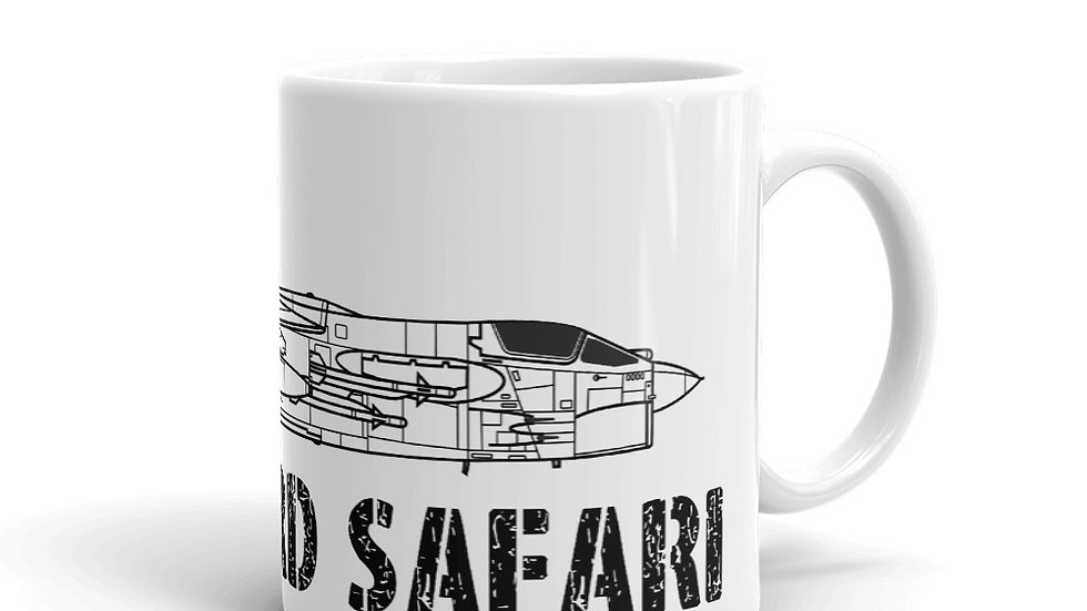 Boneyard Safari F-8 Coffee Mug
