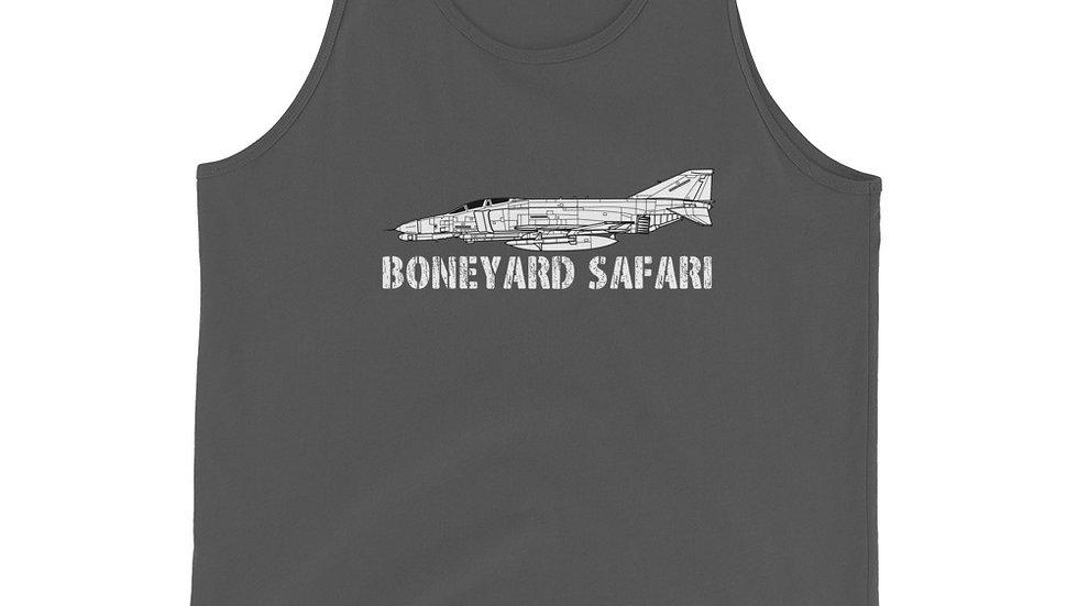 Boneyard Safari F-4G Unisex Tank Top