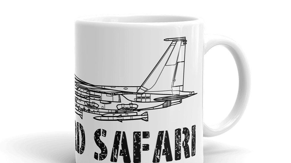 Boneyard Safari F-15EX Eagle II coffee mug