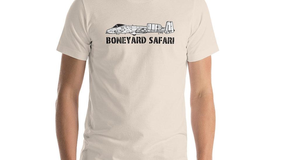 Boneyard Safari A-10 Short-Sleeve Unisex T-Shirt