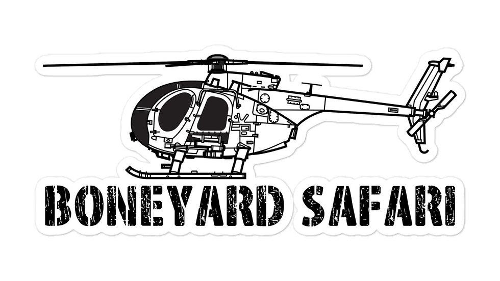 Boneyard Safari AH-6 sticker