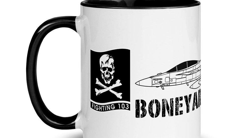 Boneyard Safari VFA-103 F-18F Mug with Color Inside