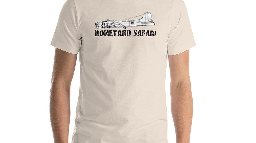 Boneyard Safari B-17 Short-Sleeve Unisex T-Shirt