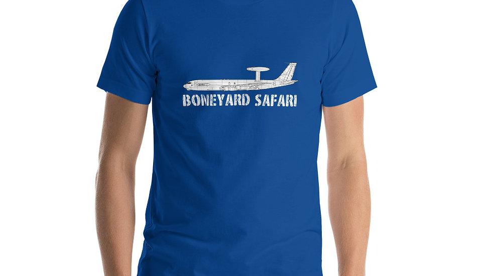 Boneyard Safari E-3A Short-Sleeve Unisex T-Shirt