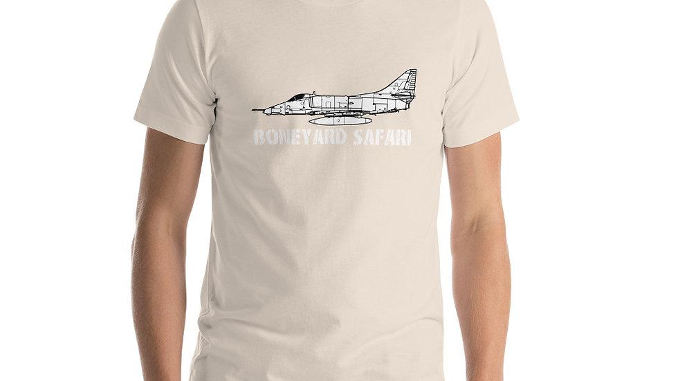Boneyard Safari A-4E Short-Sleeve Unisex T-Shirt